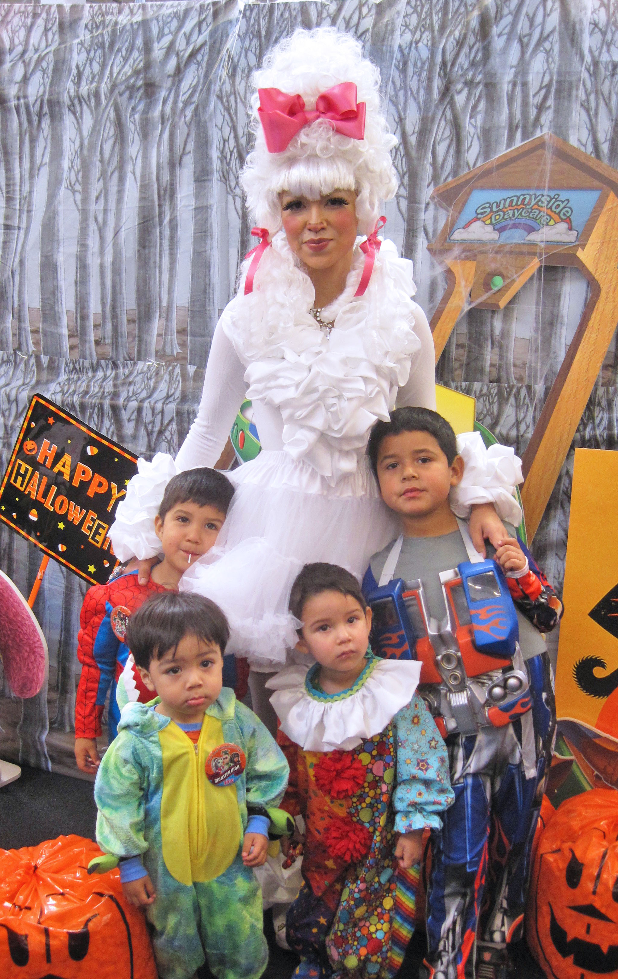Poddle costume and kids