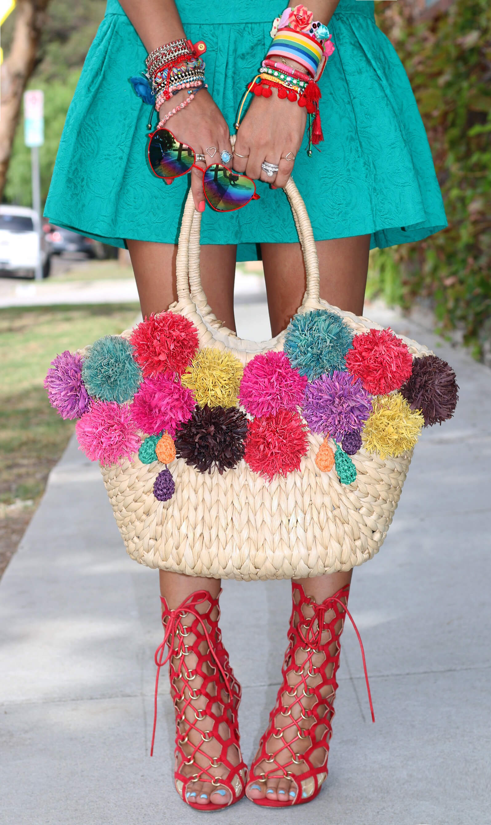 Floral Kitty_bag deets