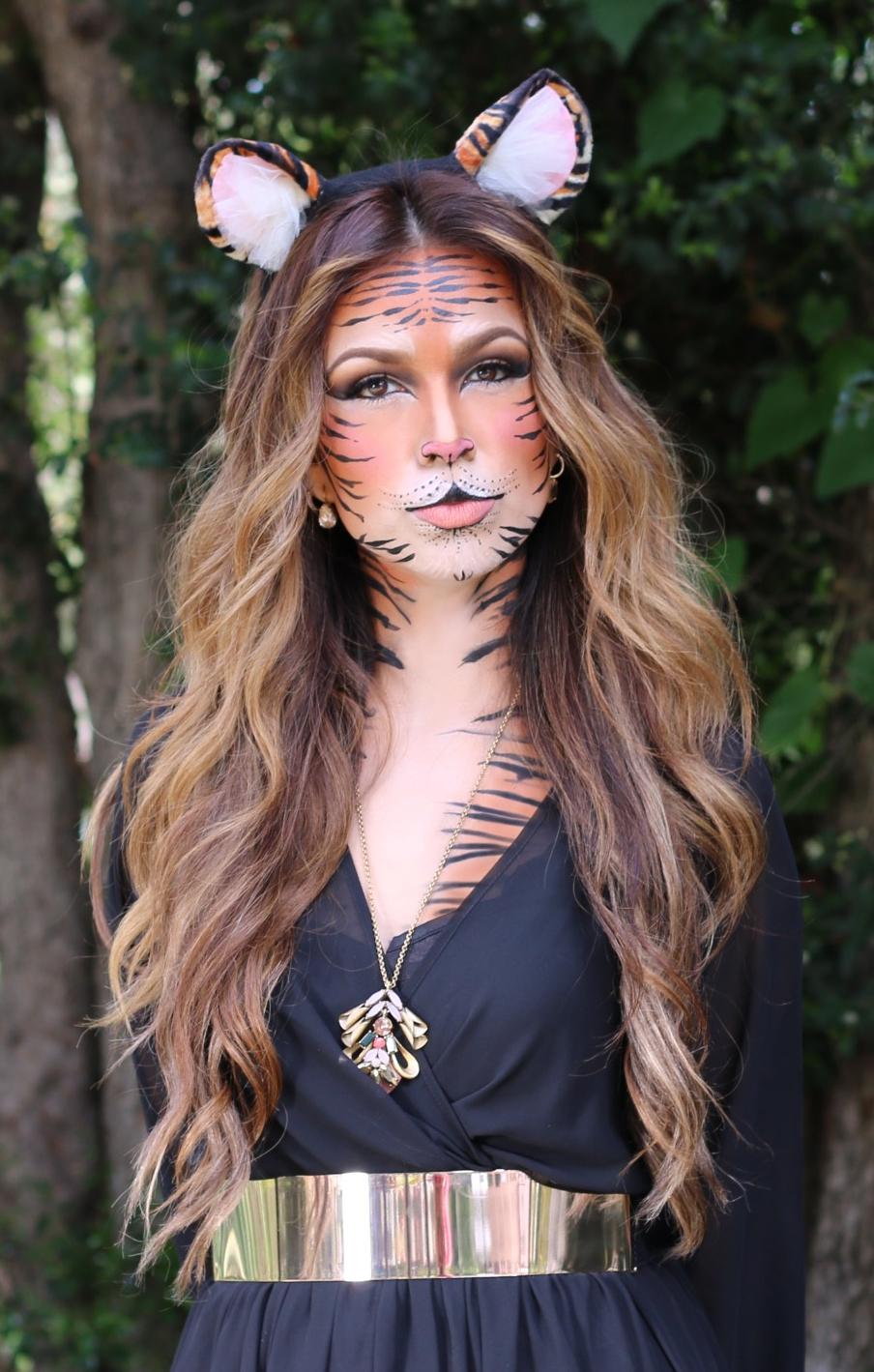 Tiger Costume Makeup Ideas
