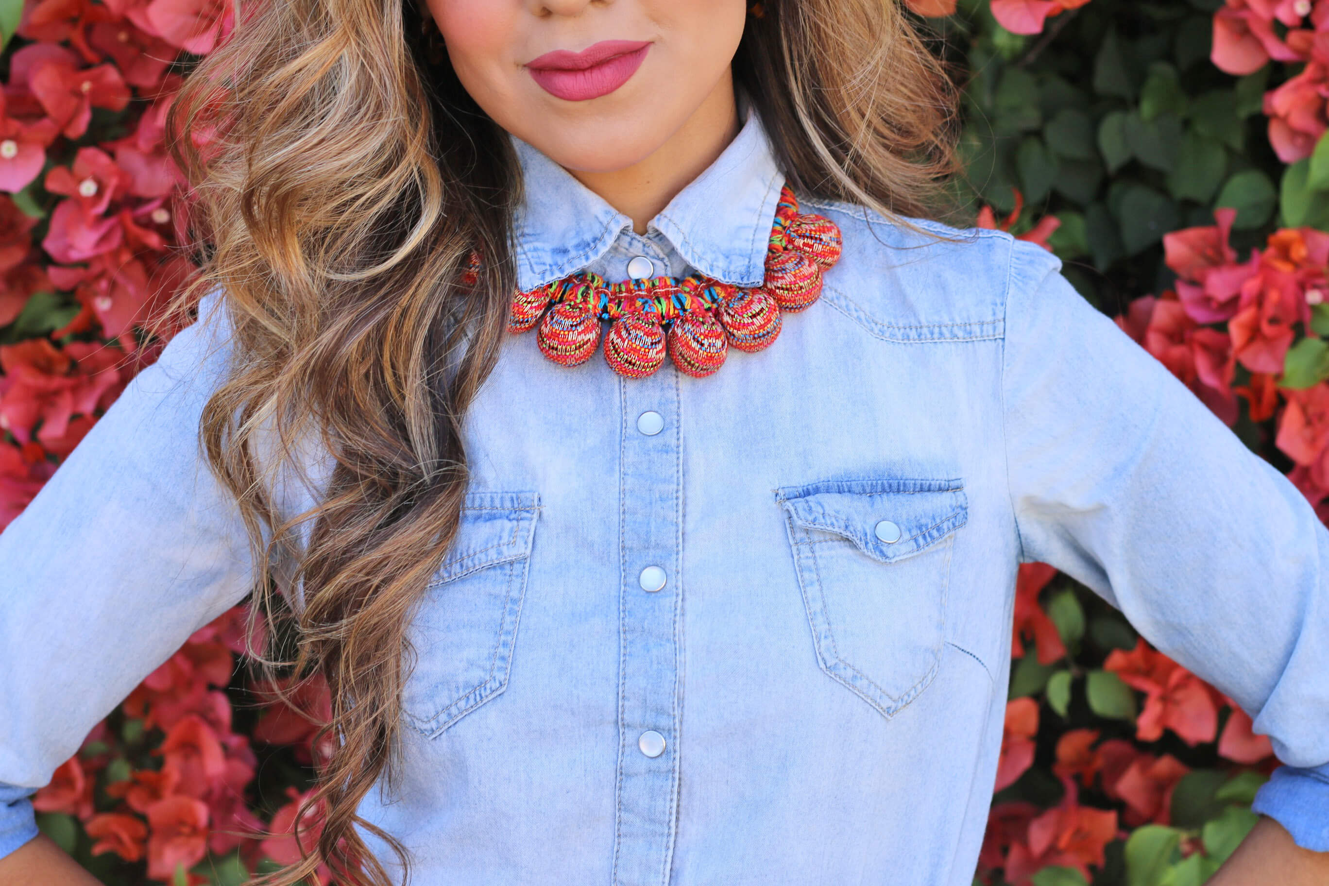 Denim Classics_close up necklace