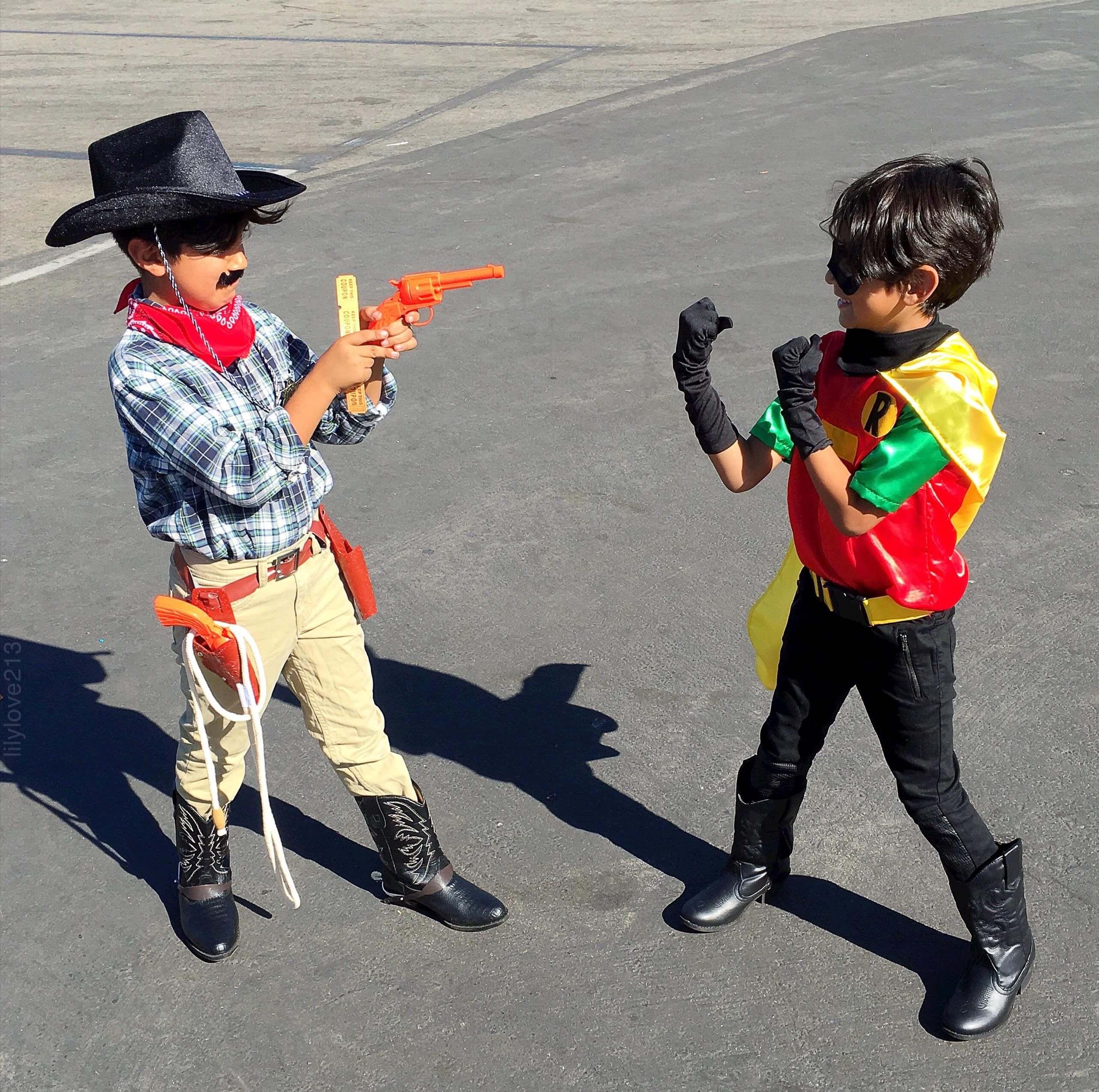 cowboy n hero fight